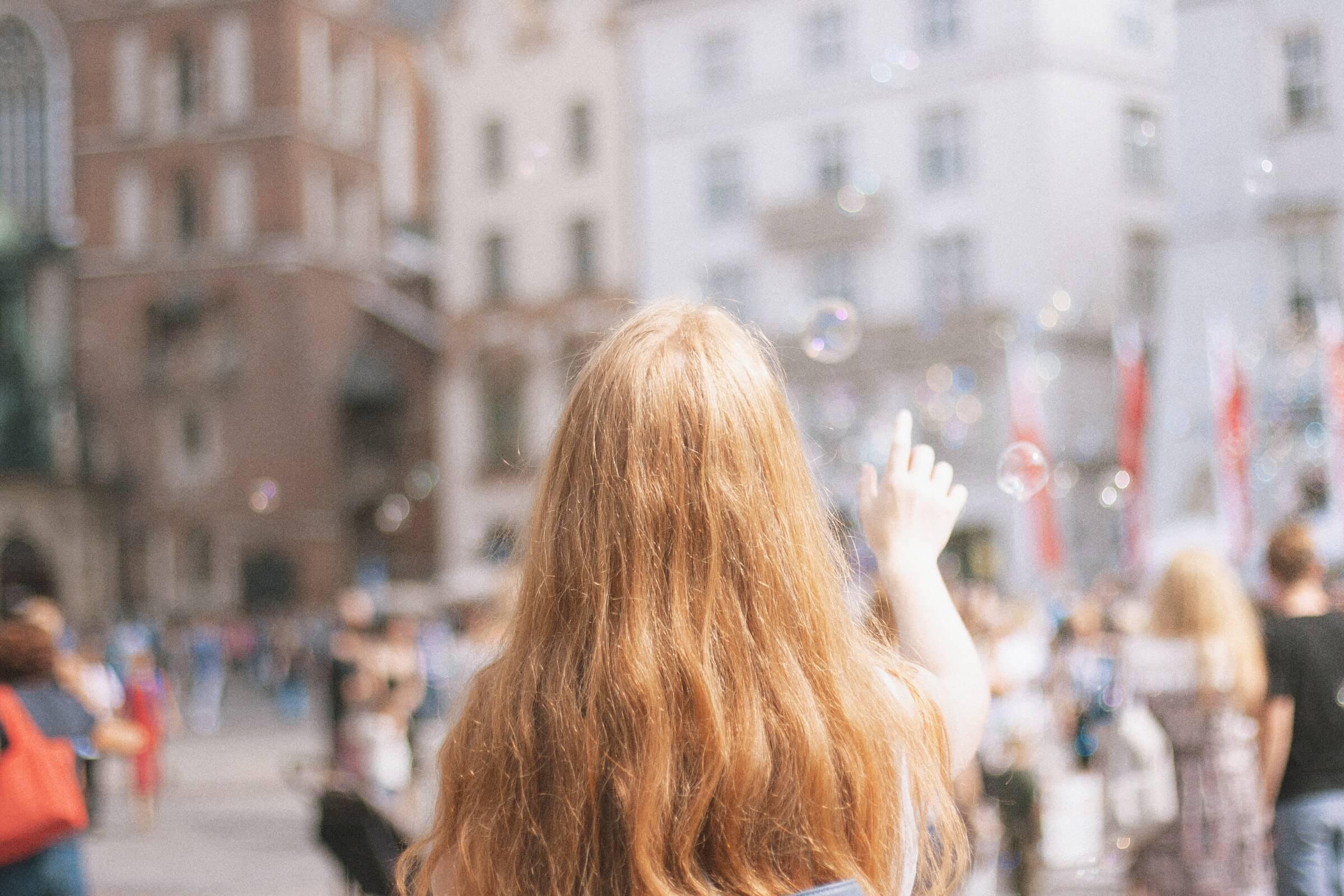 En pige i storbyen